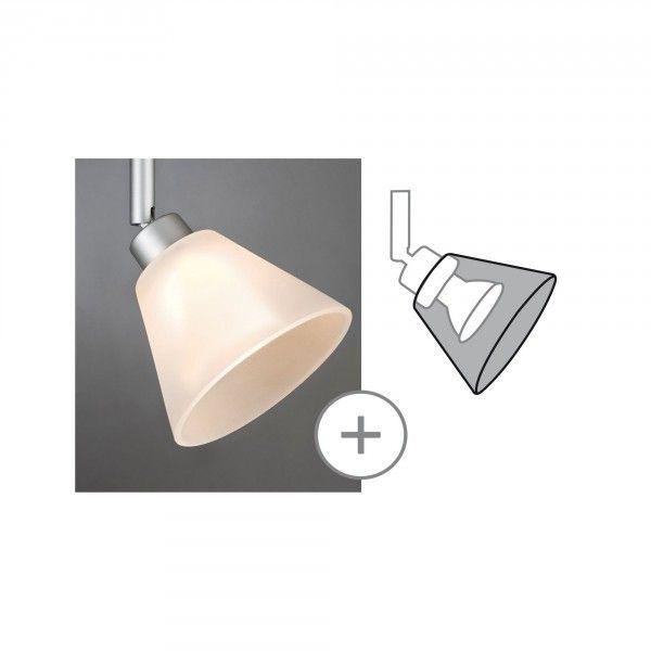 Paulmann DecoSystems Schirm Kegi max.50W Glas weiß