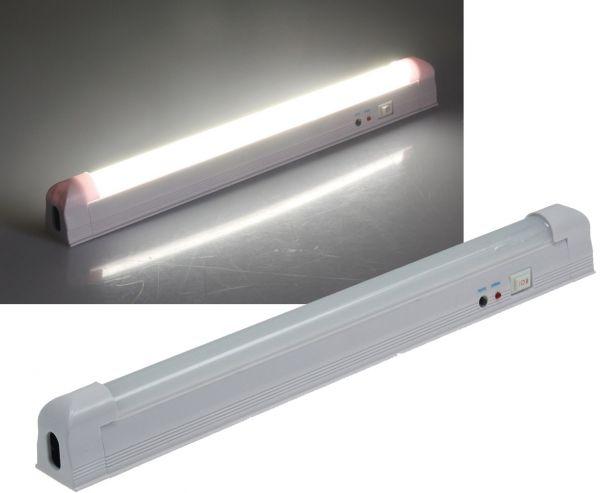 "LED Notleuchte ""CTNL-60 SMD-UB"" Lithium Akku 3,7V/2200mAh, 4W, 34x4x3cm"