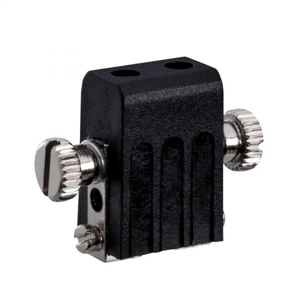 Paulmann Seilzubehör Lampenhalter GX5,3 Schwarz 12V