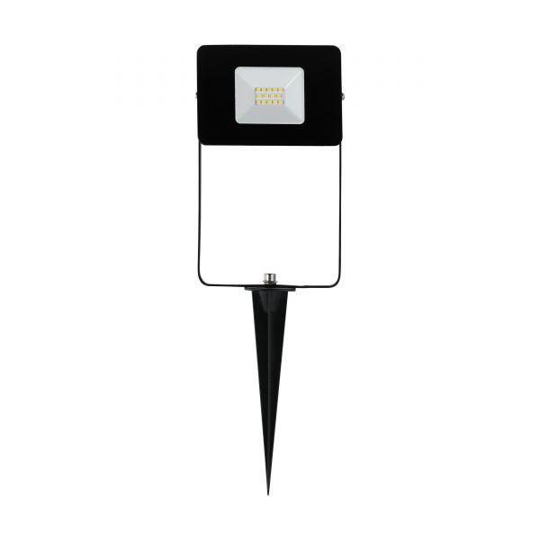EGLO LED-Gartenstrahler FAEDO schwarz 10W Erdspieß