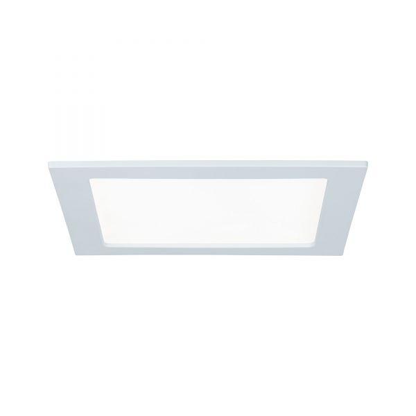Paulmann Quality EBL Set Panel eckig LED 1x18W 4000K 230V 220x220mm Weiß/Kunststoff