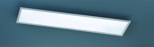 TRIO LED-Deckenleuchte PHOENIX nickel matt
