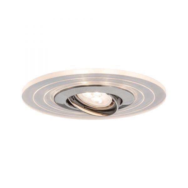 Paulmann Star EBL Set Two Step schwb m LED Ring Shine 2700K 3x4,5W 230V GU10 Eisen geb