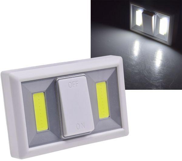 "LED Klebeleuchte ""CTK2 COB"" Batteriebetrieb, 240lm, 6000k, Magnet"