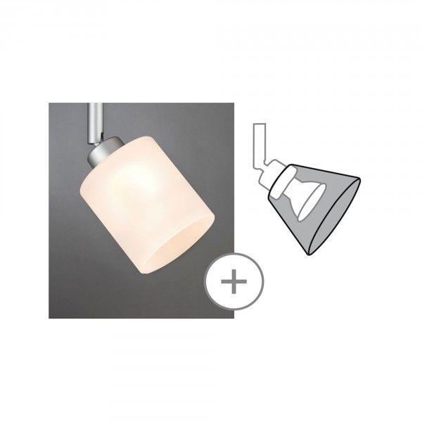 Paulmann DecoSystems Schirm Zyli max. 50W Glas weiß