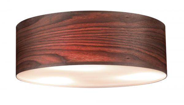 Paulmann Neordic WallCeiling Liska Deckenleuchte max.3x20W E27 Holz dunkel 230V Holz/Met