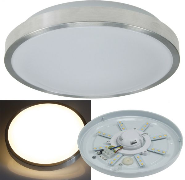 "LED Deckenleuchte ""Acronica 12w"" Ø 26cm, 12W, 700lm, 3000K, IP44"