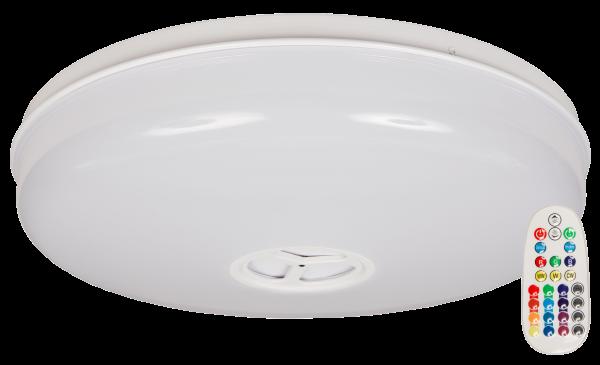 LED Deckenleuchte McShine LD-BT RGB+warmweiß, dimmbar, Bluetooth Lautsprecher