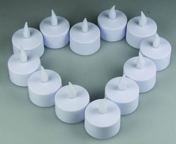 Flackerndes LED Teelicht / LED-Kerze