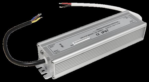 LED-Trafo McShine, elektronisch, IP67, 1-50W, Ein 85~264V, Aus 12V, wasserfest