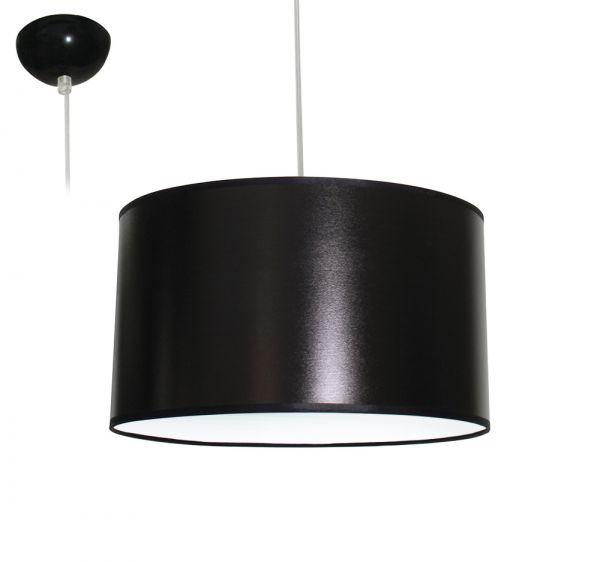 Bioledex ANISO Pendelleuchte Stoff Design dunkel-grau E27 35cm L110921