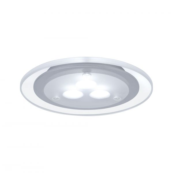 Paulmann Möbel EBL Set Deco LED 3x3W 9VA 230V/350mA 100mm Chrom matt/Acryl/ Met