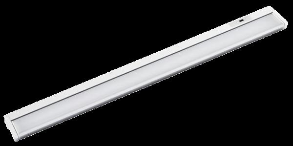 LED Unterbauleuchte, 10W, 580lm, 56cm, warmweiß, Bewegungsmelder, weiß
