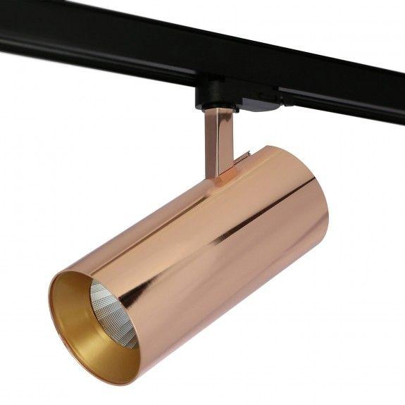 LED 3-Phasen Strahler Branta Metallic