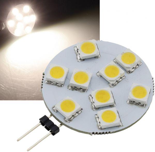 "LED Stiftsockellampe G4 ""HL-9"" 4000k, 130lm, 120°,12V/1,2W, neutralweiß"