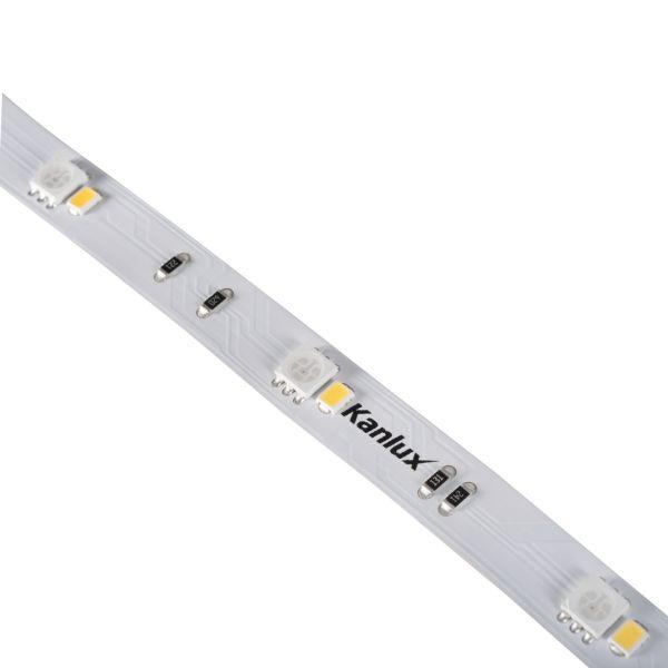 LED-Streifen LED STRIP 5 Meter L48 9W/M 24 IP00-RGBW
