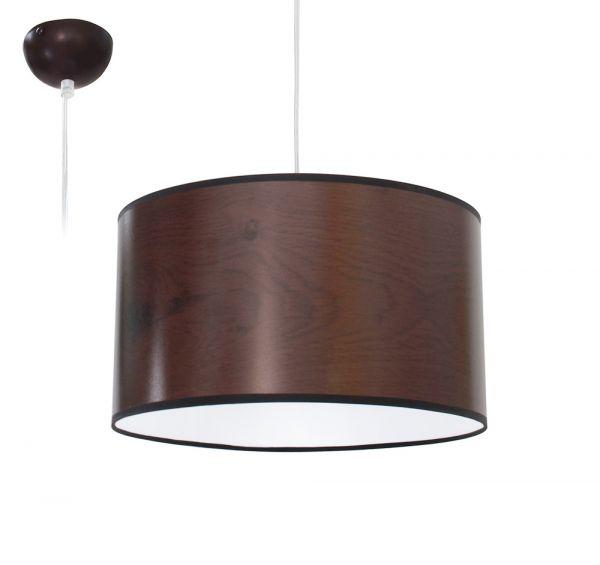 Bioledex ANISO Pendelleuchte Holz Design Kirsche E27 35cm L110914