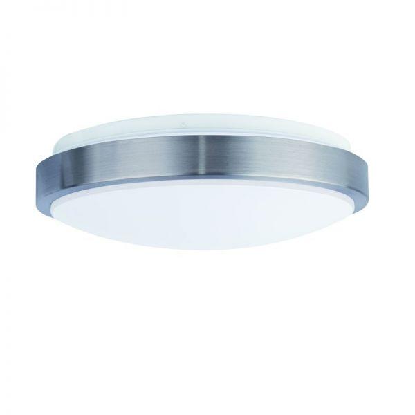 LED-Anbauleuchte LUNAsilver-sensor 36W COLORselect 3000K/4000K/5700K