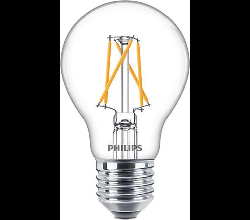 Philips Classic LEDbulb E27 7,5 W klar Filament SceneSwitch