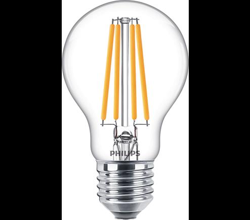 Philips Classic LEDbulb E27 10,5 W klar Filament