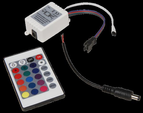 RGB-Controller für LED-Bodenleuchte McShine Fine, inkl. Fernbedienung
