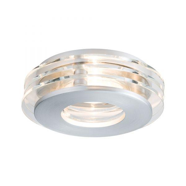 Paulmann Premium EBL Set Shell LED 3x3,5W 230V GU10 100mm Alu geb./Glas