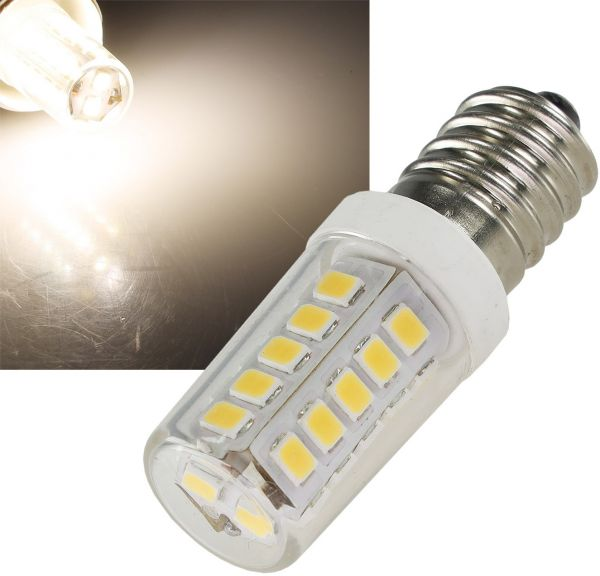 LED Lampe E14 Mini, neutralweiß 4000k, 320lm, 300°, 230V, 4W, ØxL17x51mm