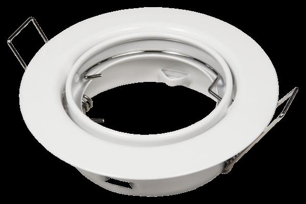 Einbaurahmen McShine ER-87 weiß, Ø87mm, schwenkbar