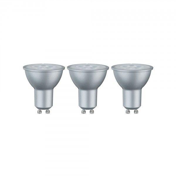 LED Reflektor 6,5W GU10 230V Warmweiß 3er-Pack