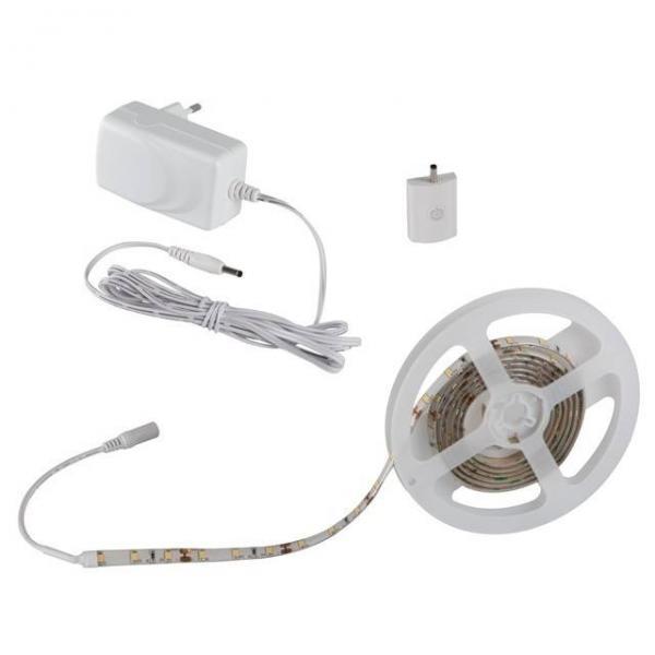 LED-Stripe Set zur indirekten Möbelbeleuchtung mit Smart Touch Sensor 7,5W 450lm warmweiß