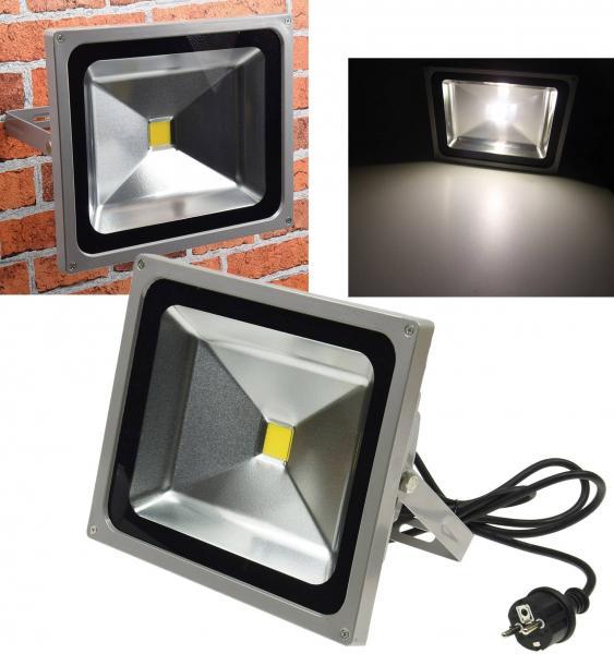 LED-Außenstrahler / Fluter CTF-50W 3700lm IP44