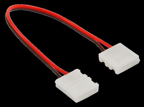 Verbinder für LED-Stripe, flexibel, 2Pin auf 2Pin, 10mm