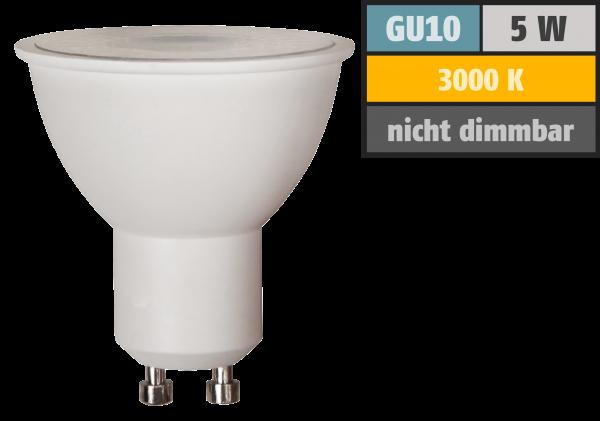 LED-Strahler McShine Brill95 GU10, 5W, 400lm, 38°, warmweiß, Ra >95, 50x56mm