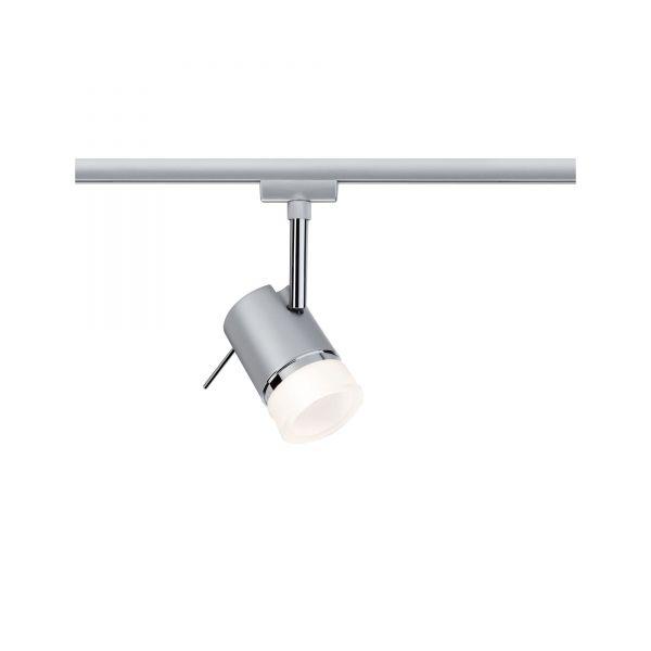 Paulmann URail LED Spot Pipe 3,5W GU10 Chrom matt