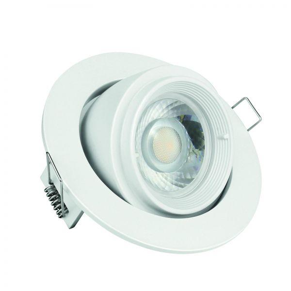 SpectrumLED SALTARA GU10 10 Watt Aluminium Rund Weiß