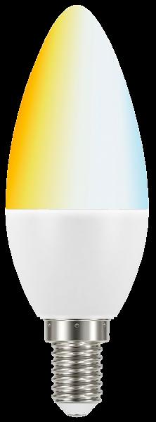 LED Kerzenlampe tint, E14, 6W, 470 lm, 2700-6500K, Smart Home, Zigbee