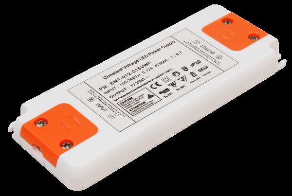 LED-Trafo McShine Slim elektronisch, 1-15W, 230V auf 12V, 128x50x12mm