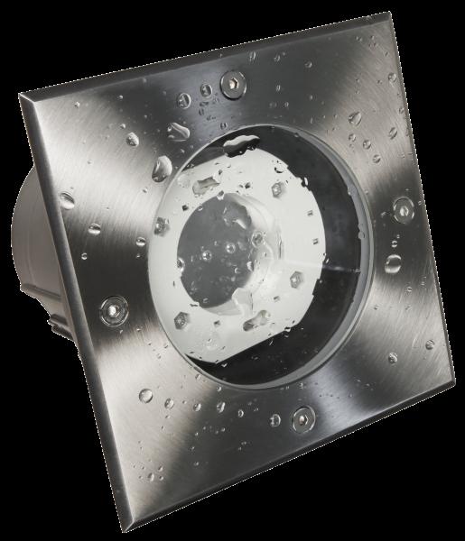 Bodenleuchte McShine BL-05Q IP65, GX53 Fassung, 140x140x115mm, eckig