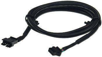 RGB LED-Stripe Verlängerungskabel und EBL Slim, 100cm mit Stecker/Kupplung