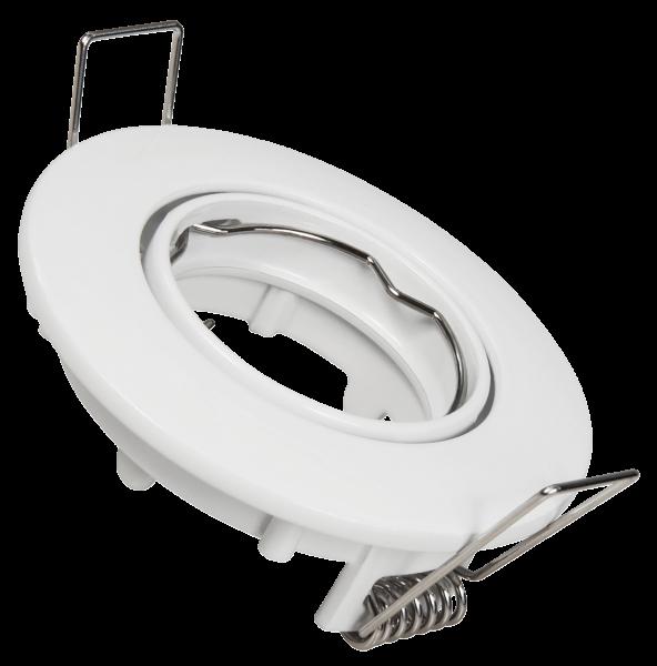 Einbaurahmen McShine DL-110, weiß, 65mm-Ø, schwenkbar
