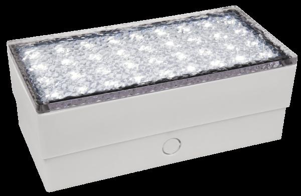 LED-Bodenleuchte McShine Pflasterstein 20x10x7cm, 180lm,IP65, neutralweiß,230V
