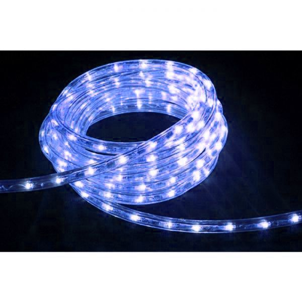 High-End LED Lichtschlauch UV-beständig IP67 1-90 Meter wählbar 230 Volt Blau