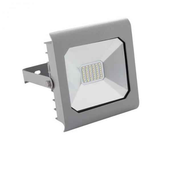 30 Watt LED Fluter 2.300 Lumen von Kanlux IP65 Grau Neutralweiß