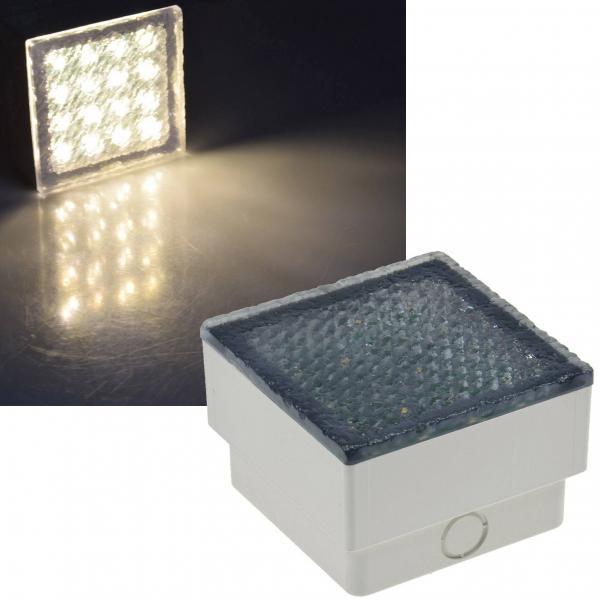 LED Pflasterstein BRIKX 10 warmweiß 80lm 1,5W
