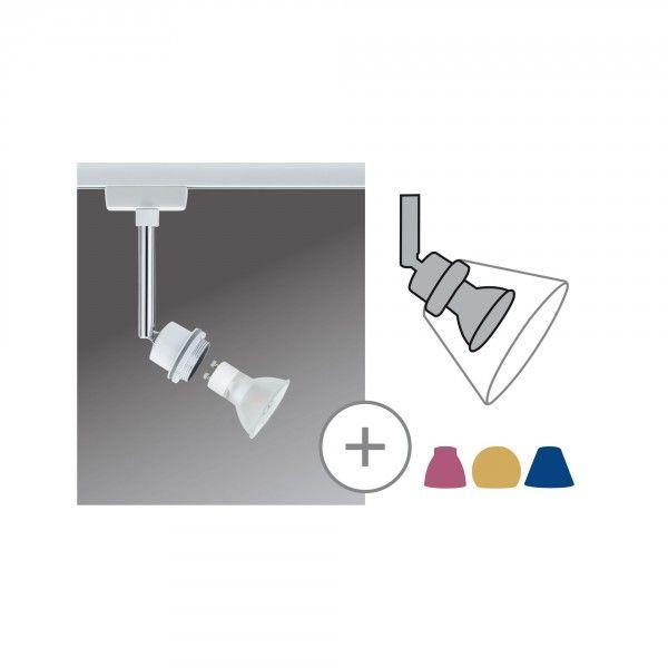 Paulmann URail DecoSystems LED Spot 3,5W GZ10 weiß