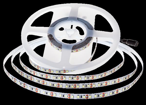 LED-Stripe 168LED/m, 1650lm/m, 11W/m, warmweiß 3000k, 5m Rolle, IP20, 150lm/W