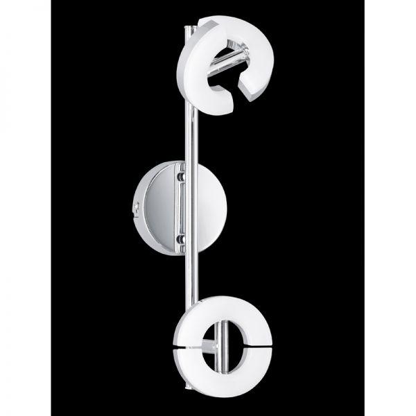 Honsel LED-Deckenleuchte Donut LB18 chrom Acrylglas 2x 6W 3000K