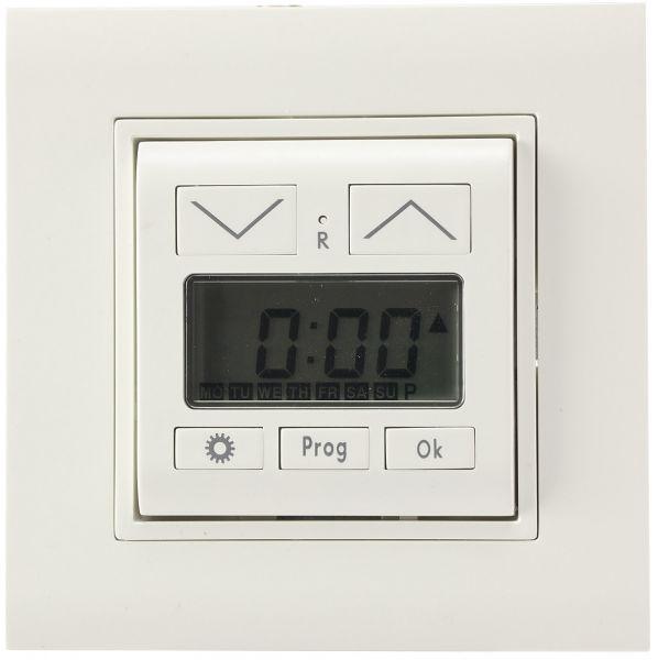 Jalousie- / Rolladen-Zeitschaltuhr für Unterputz-Montage