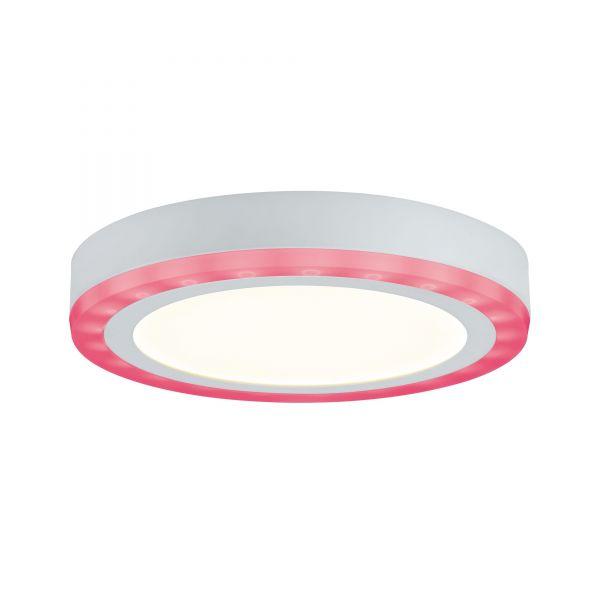 Paulmann WallCeiling Sol RGB LED-Panel 9,4W+4,6W 245mm Weiß 230V Alu
