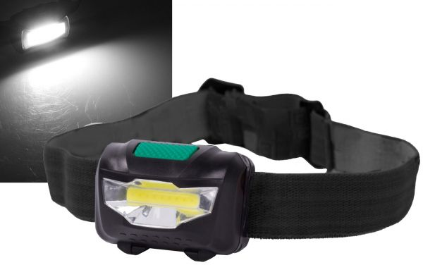 "LED-Stirnlampe ""HeadLight COB"" 3W"